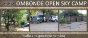 OMBONDE OPEN SKY CAMP